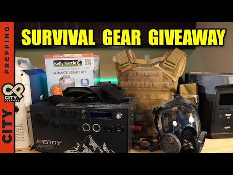 12 Days of Christmas Survival Gear Giveaway (over $9,000 in value)