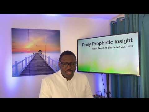Prophetic Insight Mar 14th, 2021