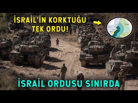 İsrail Sınıra Ordu Yığdı! Acil Destek Lazım