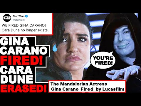 ANGRY RANT: Gina Carano FIRED From The Mandalorian By Lucasfilm! No Longer Part of Disney Star Wars!