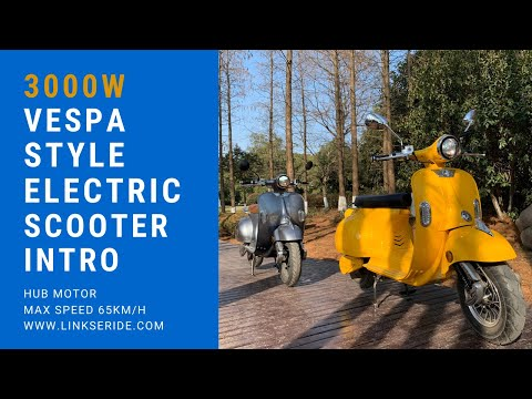 LinksEide 3000W Electric Moped Scooter Comparison Intro