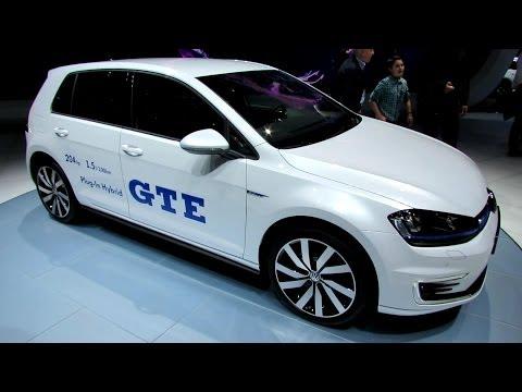 2015 Volkswagen Golf GTE Plug in Hybrid - Exterior and Interior Walkaround - 2014 Geneva Motor Show - automototube