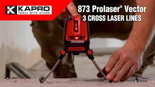 Laserlood Kapro 873 PROLASER VECTOR