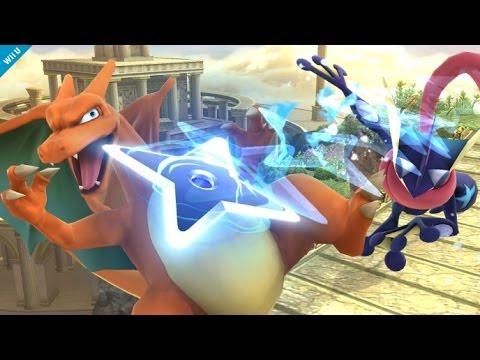 Super Smash Bros - Wii U - Greninja's Final Smash - E3 2014 - UCKy1dAqELo0zrOtPkf0eTMw