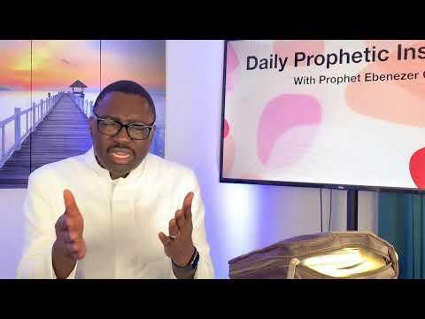 Prophetic Insight October 7,2021