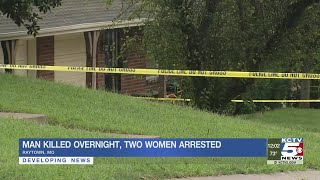 Man dead, 2 women in custody after shooting in Raytown