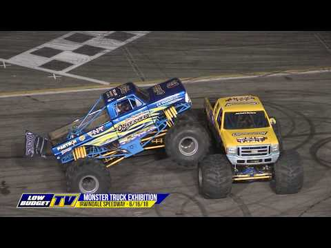 Monster Truck Exhibition at Irwindale Speedway