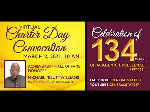 "Central State University Achievement Hall of Fame Honoree Michael ""Blue� Williams"