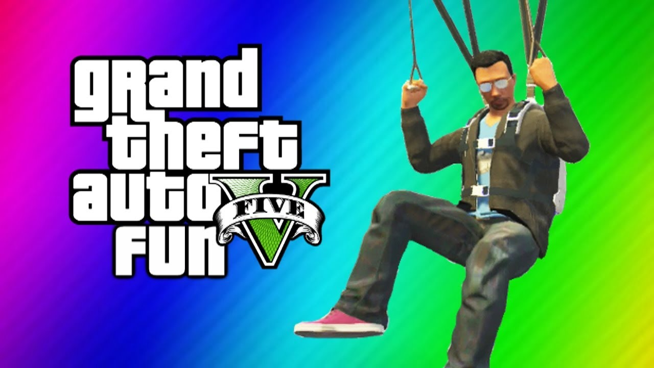 Gta 5 Online Funny Moments Gameplay Secret Iaa Building