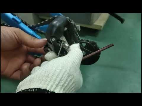 How to replace the rear derailleur for  BLUE SPARK
