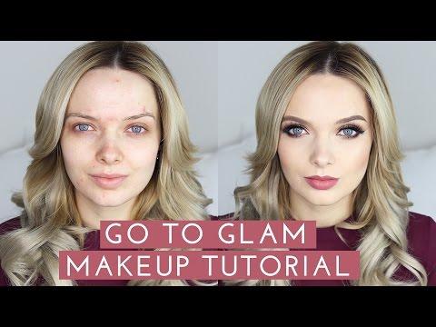 GO TO GLAM Makeup Tutorial // MyPaleSkin - UC_0cZVAIcWOWiYxnY32gSgg