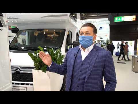 Hobby Caravan Reisemobil Alkoven - Caravan Salon 2020 / Messe Düsseldorf