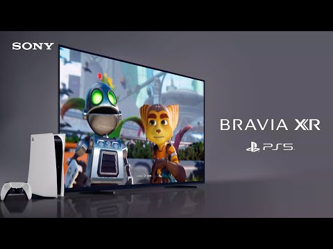 SONY  BRAVIA  XR  /  PS5  |  Next-gen  TV  for  gaming
