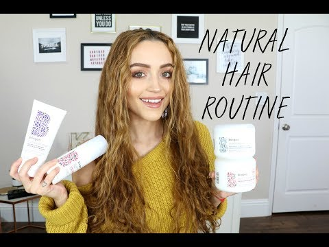 Hair Care Routine using Briogeo