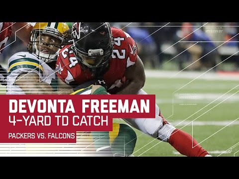 Julio Jones Unreal Catch Sets Up Freeman TD! | Packers vs. Falcons | NFC Championship Highlights