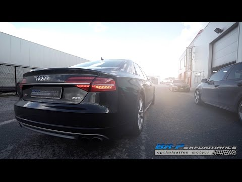 Audi S8 4.0 TFSi Stage 1 By BR-Performance