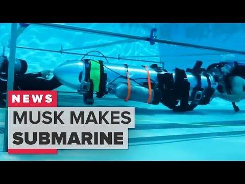 Thai cave rescue: Elon Musk rescue submarine explained (CNET News) - UCOmcA3f_RrH6b9NmcNa4tdg