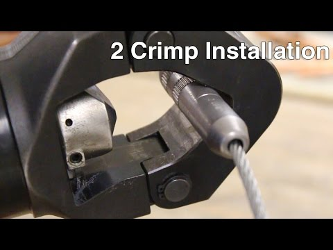 Cable Pull 2 Crimp Installation
