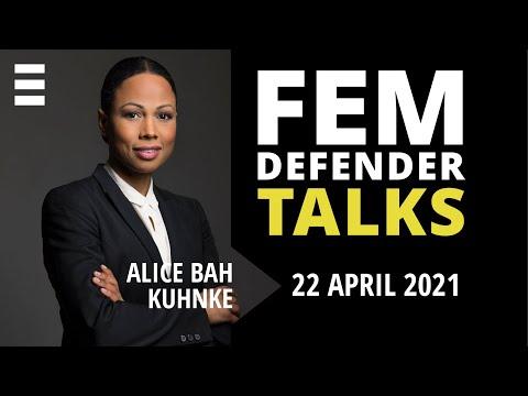 Femdefender Talk med Alice Bah Kuhnke | Kvinna till Kvinna