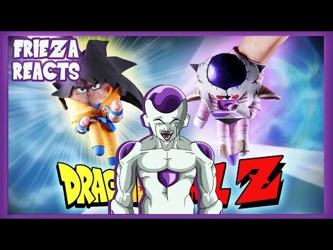 FRIEZA REACTS TO DRAGHAND BALL Z!