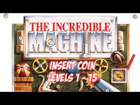 The Incredible Machine (1992) - PC - Levels 1 - 15 - Solución en español