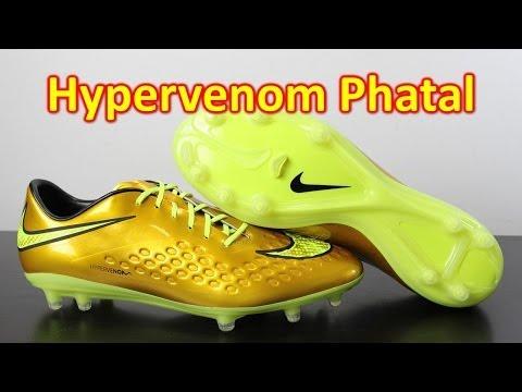 Neymar Nike Hypervenom Phatal Premium Metallic Gold Coin/Volt - Unboxing + On Feet - UCUU3lMXc6iDrQw4eZen8COQ
