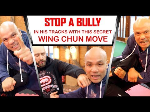 Stop a BULLY in his tracks with this secret Wing Chun move