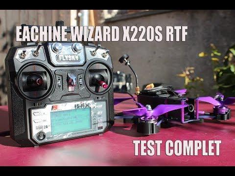 eachine wizard X220S unboxing configuration test et avis - UCe7WubuhTh2P_zwYexO7YJA