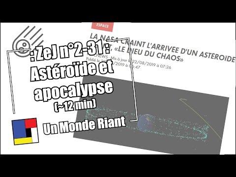 Zététique et journalisme - #2-31 - Astéroïde et apocalypse