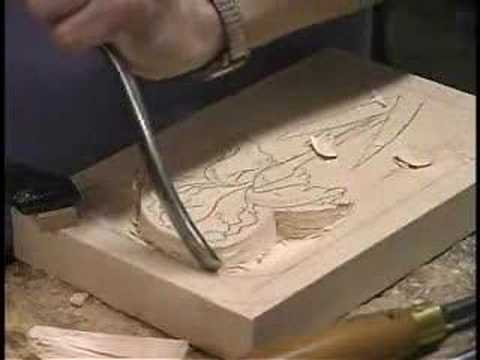 Spirit Williams Illusions In Wood Carving A Relief