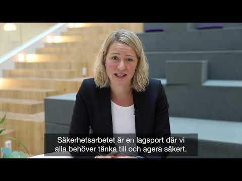 Telia deltar i kampanjen Tänk säkert