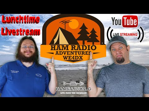 Lunchtime Livestream - Planning POTA at OBX with Ham Radio Adverntures Group!