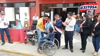 Empresario árabe retornó al Perú para cumplir su promesa con el pequeño Víctor