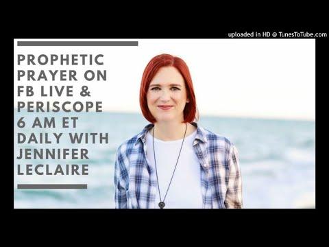 Jennifer LeClaire Ministries Prophetic prayer