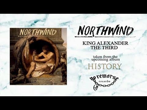 Northwind - King Alexander The Third (Lyric Video)
