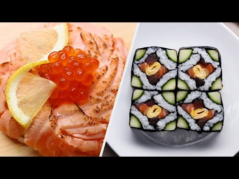 How To Make Sushi Six Ways ? Tasty Recipes