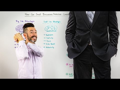 How Can Small Businesses/Websites Compete with Big Players in SEO? - Whiteboard Friday