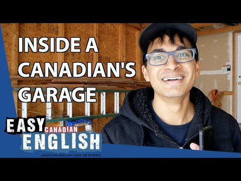 What do Canadians keep in their garage? | Super Easy English 19 photo