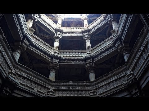 Rani-ki-Vav and other Stepwells in Gujarat, India in 4K Ultra HD