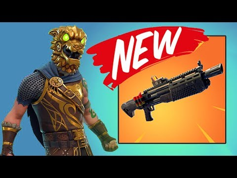 NEW GUN!! (HEAVY SHOTGUN) | Fortnite Battle Royale