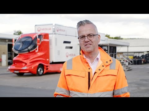 Arbeitssicherheit on the road: der Arbeitssicherheitstruck von Veolia