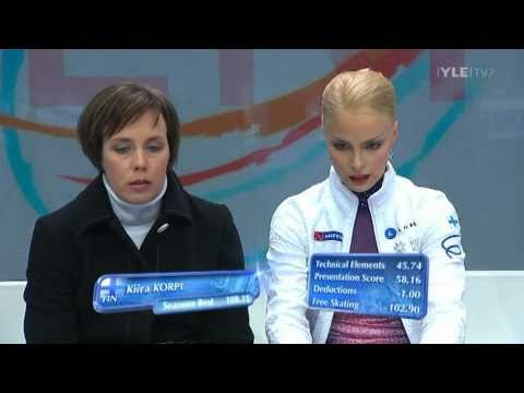 Kiira Korpi - Free Program - 2011 European Figure Skating Championships