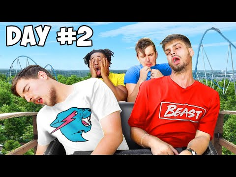 Last To Leave Roller Coaster Wins $20,000 - Challenge - UCX6OQ3DkcsbYNE6H8uQQuVA
