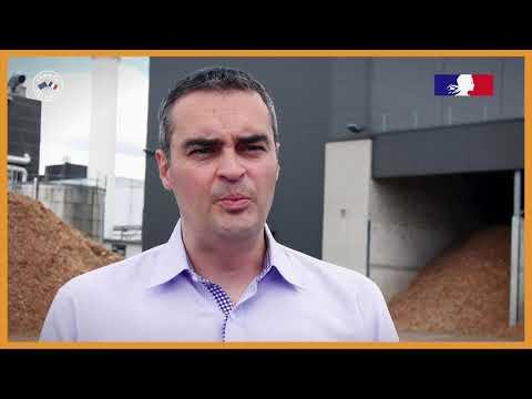 Chaufferie biomasse chez Nestlé à Challerange (08)