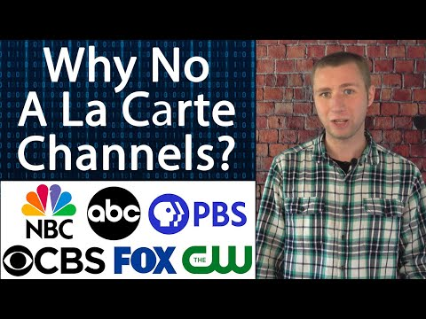Why You Can't Pick Your Channels on Cable TV and Streaming Packages