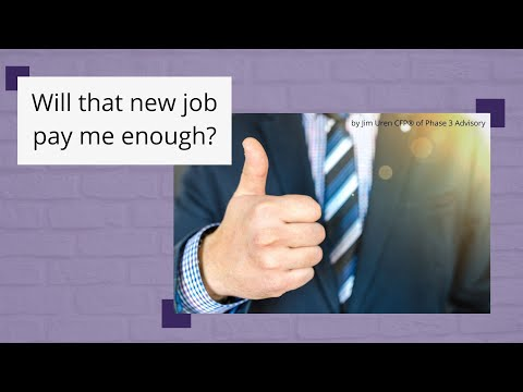 Can you accept a job with a lower salary? Maybe! | Face Your Job Loss Head-On