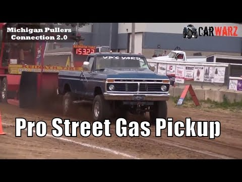 Pro Street Gas Pickup Class At TTPA In Carsonville MI - Day 01 2018