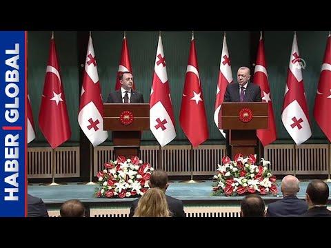 Cumhurbaşkanı Erdoğan'dan Türkiye-Azerbaycan-Gürcistan İşbirliği Mesajı