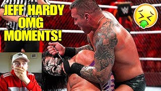 REACTING TO JEFF HARDY OMG MOMENTS! *GRAPHIC*