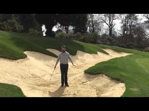 Stoke Park Golf Academy showcases their new bunker renovation programme